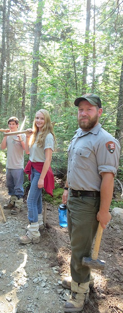 Acadia Youth Conservation Corps slice